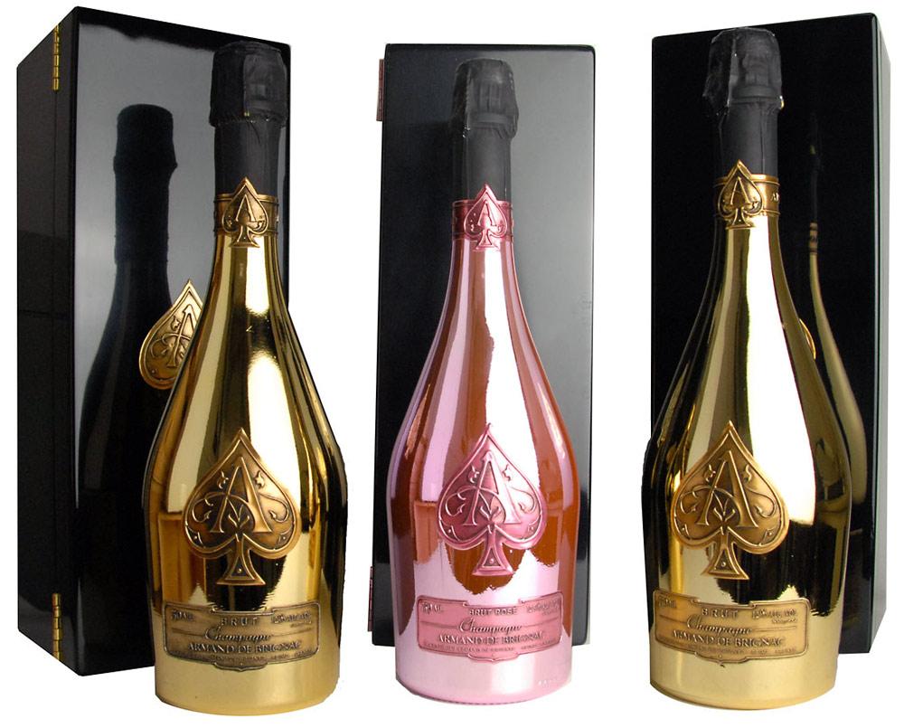 Aclamado champagne Armand de Brignac estreia no Brasil