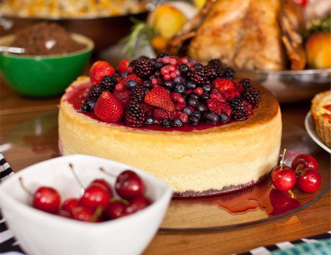 Buffet Arroz de Festa ensina receita de de Cheesecake