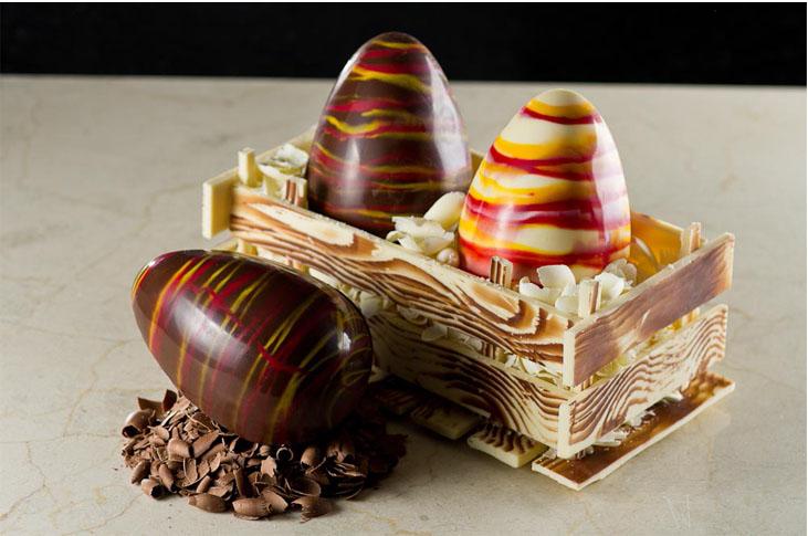 Ovos e trufas com chocolates Harald são opções de presentes nesta Páscoa