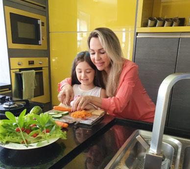 Nutricionista da dicas de alimentação saudável para crianças