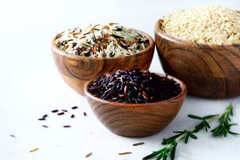 Superarrozes é opção para diversificar o arroz branquinho de todo dia