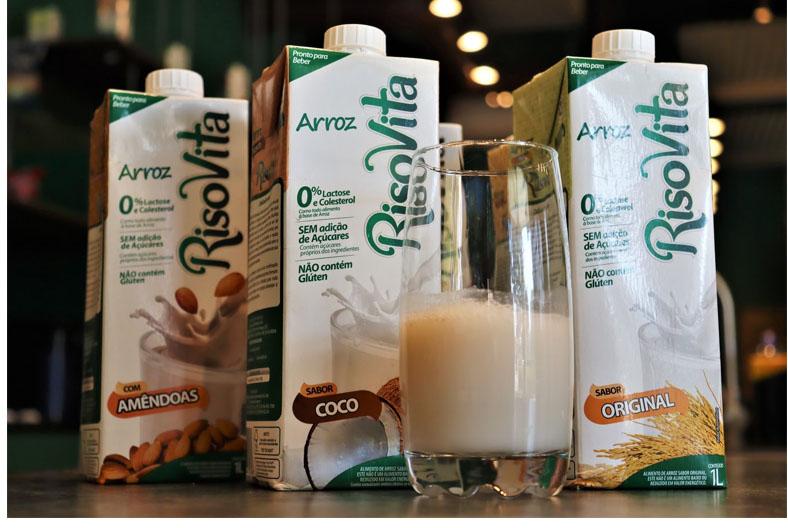 Bebida de arroz: uma aposta para substituir o leite integral