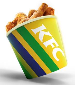 KFC lança promoção Balde da Torcida