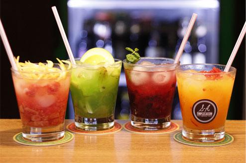 Bar curitibano oferece caipirinhas especiais