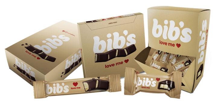 Bib's lança chocolates com recheio de bombom Love Me