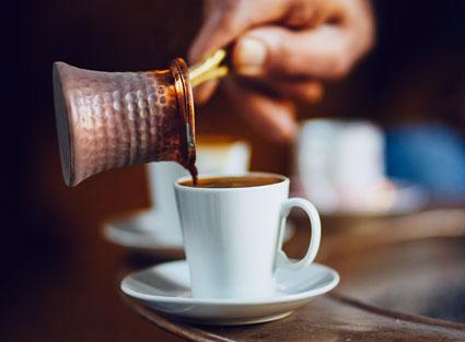 Café turco para todos os gostos