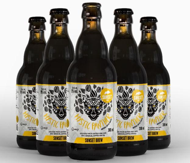 Mystic Panther lança cerveja com café Catuaí Amarelo