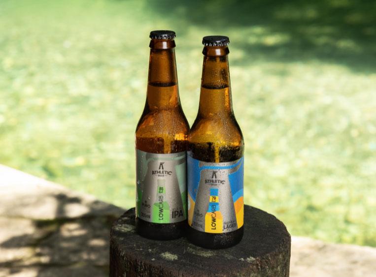 Athletic Beer lança as cervejas puro malte menos calóricas do Brasil