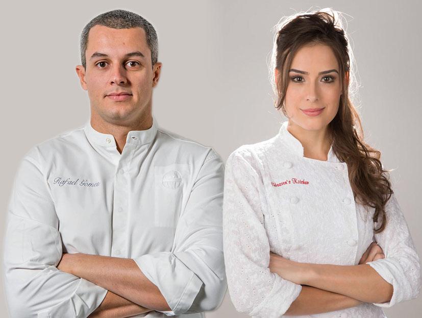 A chef Heaven Delhaye recebe o chef Rafael Gomes para jantar a quatro mãos!