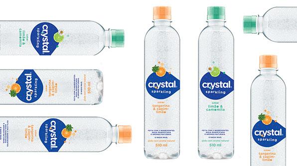 Coca-Cola Brasil traz inovação e leveza com Crystal Sparkling