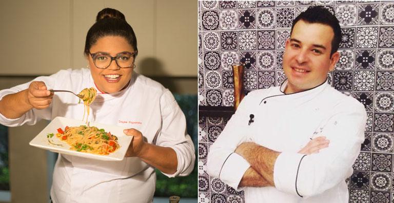 Saraiva promove aulas-show no Shopping ABC com  os chefs Bruno Baumann e Dayse Paparoto