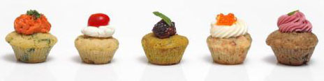 Dedo de Moça Buffet & Bakery lança cupcakes salgados
