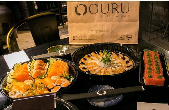 Oguru Sushi & Bar celebra primeiro ano com novidades