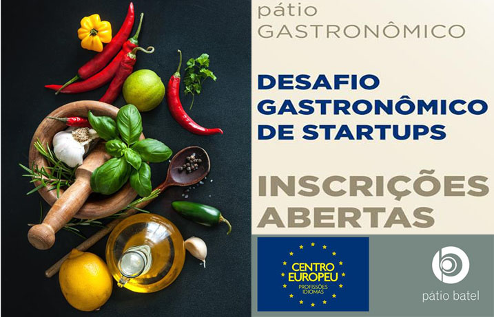 1º Desafio Gastronômico de Startups: inovação com sabor