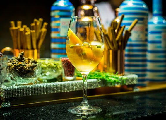Você conhece drinks com vinho?