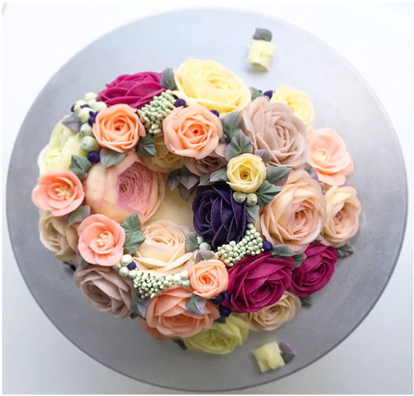 Workshops gratuitos de Flower Cakes na FIPAN