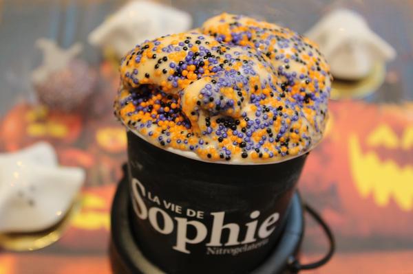 La Vie de Sophie tem sorvetes e doces especiais para comemorar o Halloween