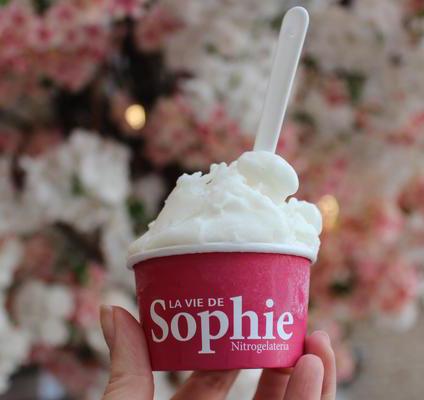 La Vie de Sophie lança linha de sorvetes feitos com nitrogênio para o Dia das Crianças