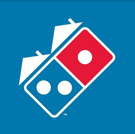 Domino's Pizza muda sua logo para estimular que a população fique em casa