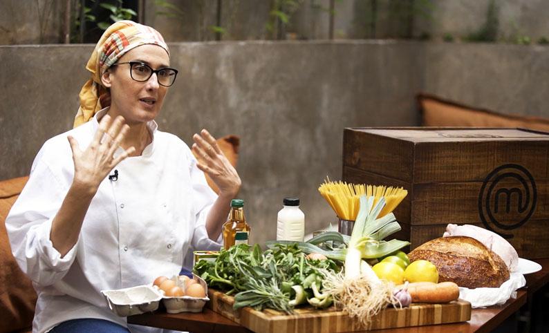 Paola Carosella desafia Chefs e Ana Paula Padrão em Live