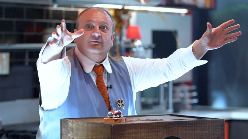 """Exibição da """"Caixa Misteriosa: Desafio dos Chefs"""" desta quarta-feira encerra especial de Lives"""