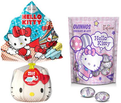 Lojas Americanas traz ovos de páscoa da Hello Kitty com exclusividade