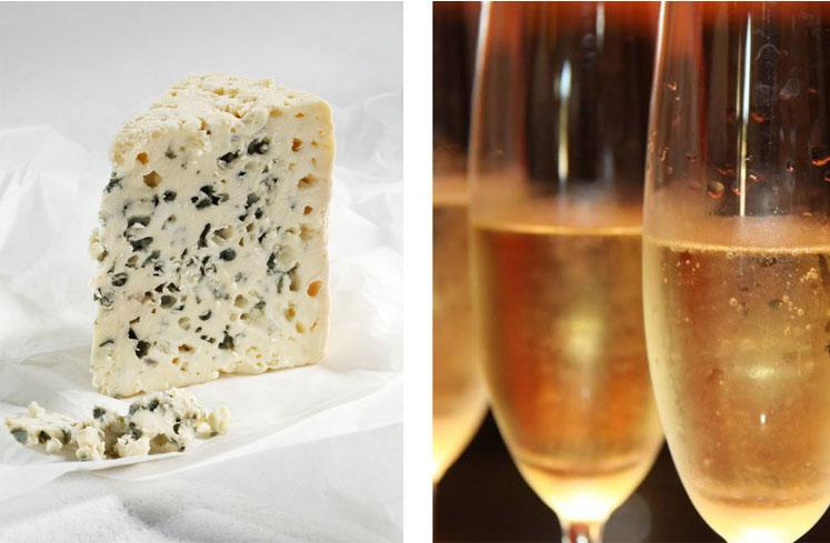 Harmonização de queijos europeus e espumantes brasileiros