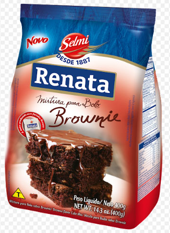 Renata lança Mistura para Bolo sabor Brownie