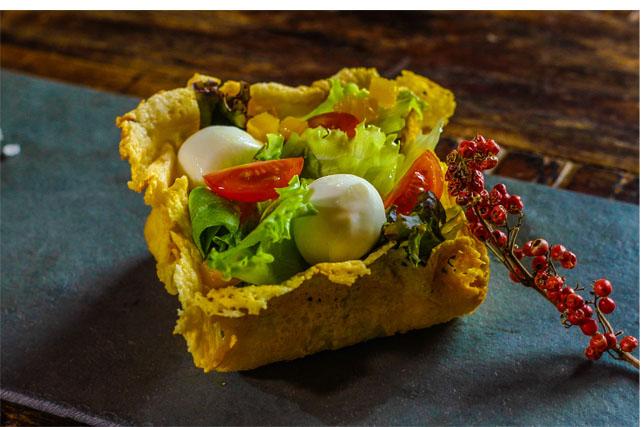Receita: Salada Crocante com queijo Bocconcini Alla Panna DiBufalo