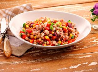 Gomes da Costa: Salada mexicana com atum + 2 receitas