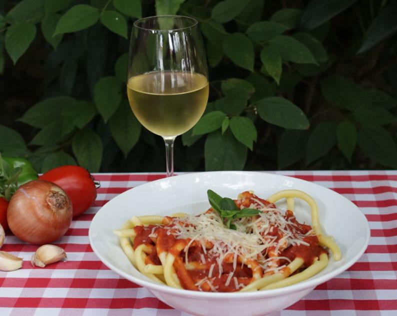 Receita de Spaguetti da Cantina Tia Lina