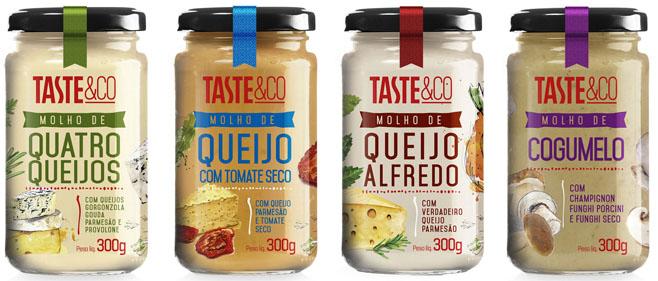 Taste&Co aposta em molhos especiais práticos e saborosos