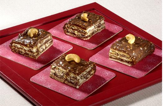 Receitas de Ministrone e Tijolinhos Crocantes de Chocolate