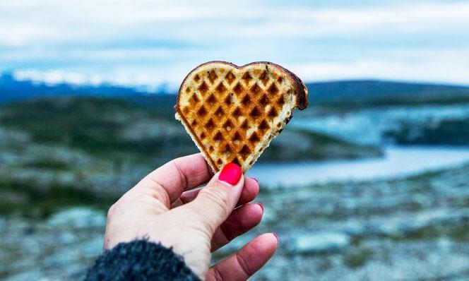 Confira receita de waffles noruegueses que vão alegrar sua quarentena